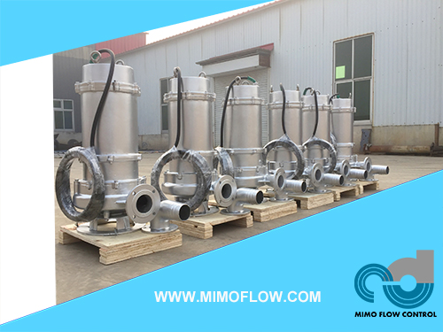GOOD NEWS! SUMBERSIBLE SEWAGE PUMP FINISHED AND EXPORTED TO MALAYSIA