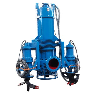 SS Submersible Drijfmest Series Pump