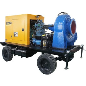 HW Horizontal bercampur Pump Flow