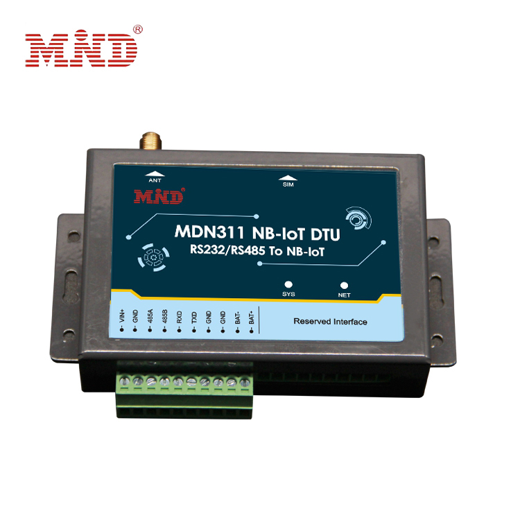 Wireless communication link nb iot industrial grade data transmission terminal DTU