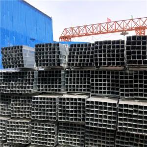 镀锌建筑材料方管