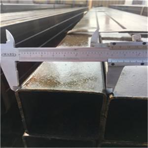 黑色方形油管75 75mm S355J2H用于钢结构