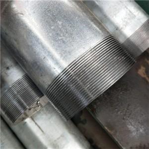 镀锌铁螺纹管衬套导管Gi Pipe价格