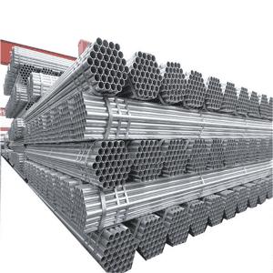 镀锌圆钢管ASTM A53用于建筑管