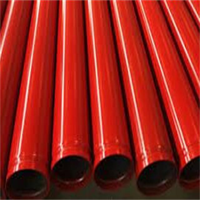 沟槽端部镀锌管钢管,用于防火胶管特色图像