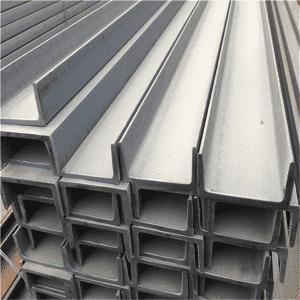 热浸镀锌钢C通道SS400用于结构钢