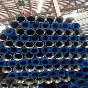 BS1387热浸镀锌螺纹钢管