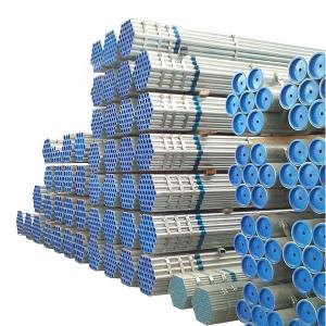 镀锌铁管钢结构管Q235B用于建筑材料