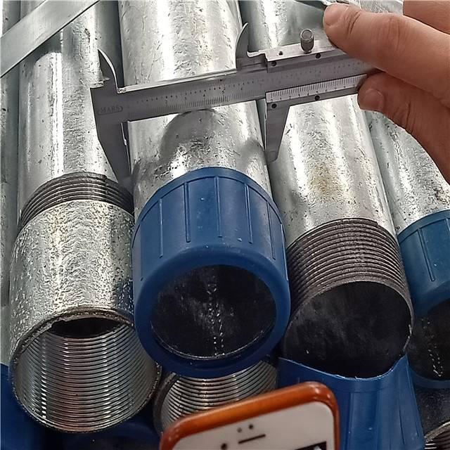 螺纹钢管内径试验
