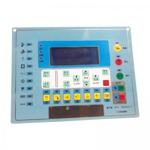 Knitting Machine Control Panel