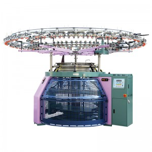 Reverse Terry Knitting Machine