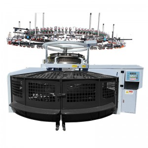 Lower Height Single Open Width Knitting Machine
