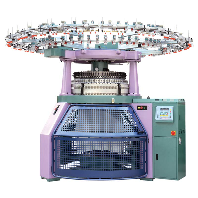 Double Jersey Computerized Jacquard Circular Knitting Machine Featured Image