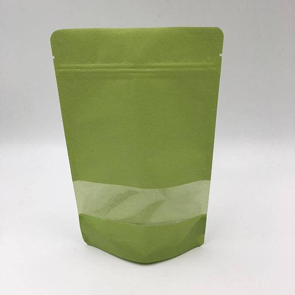 OEM manufacturer Kraft Coffee Bag With Window -
