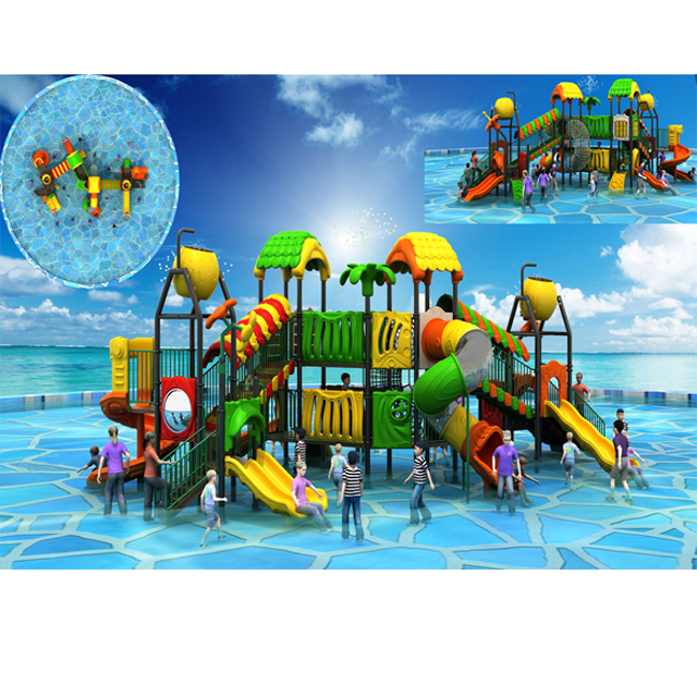 Shanghai aqua park which design for kids to play on water park Featured Image