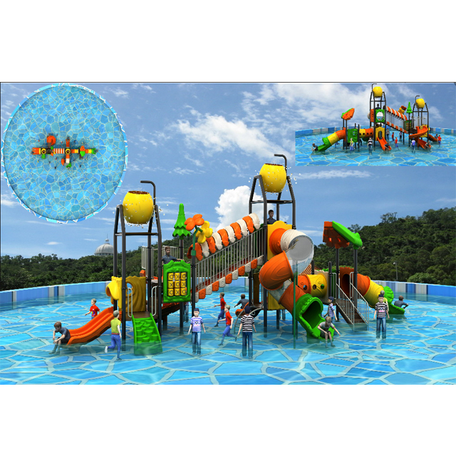 Kid's Mini Water House Theme Spray Park Featured Image