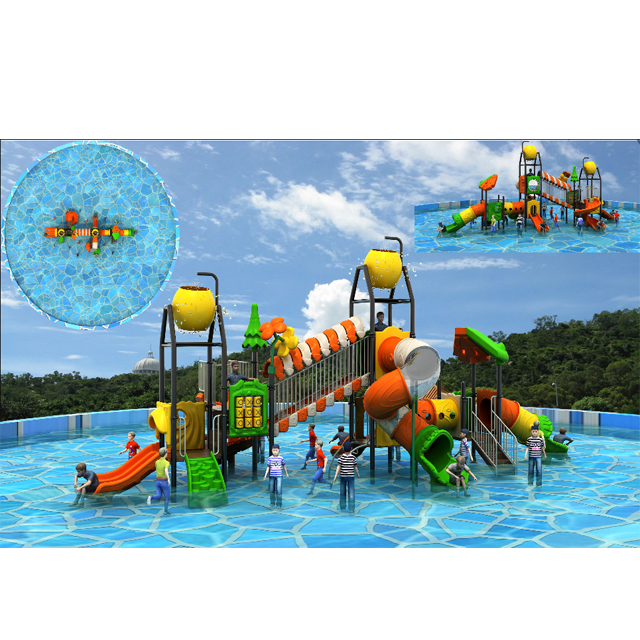 water park equipment pool slide set prices for children ,kids water house Featured Image