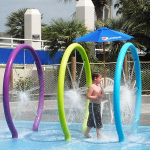 aqua park amusement play equipments water playground