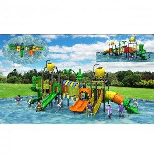 tree theme water amusement playground outdoor or indoor kids water park equipment