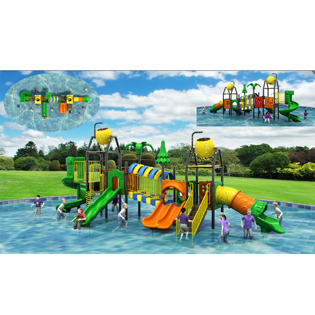 tree theme water amusement playground outdoor or indoor kids water park equipment Featured Image