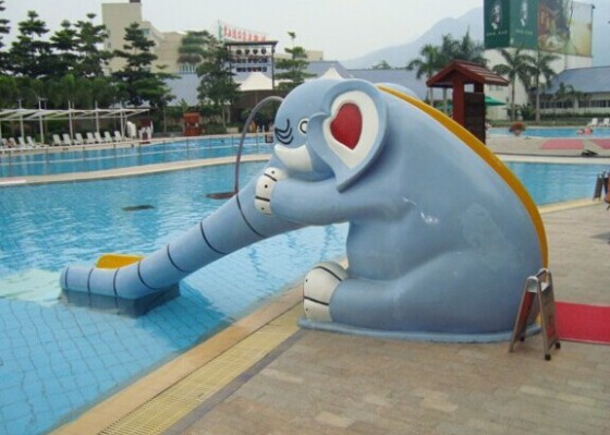 Children size rainbow/elephant/frog aqua slide Featured Image