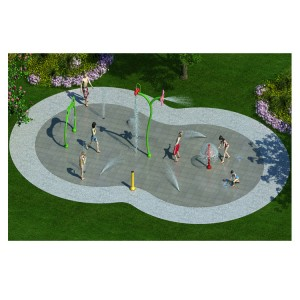 Commercial Used Pool Kids Water Play Equipment Water Splash Pad for Sale