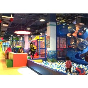 Children Amusement Indoor Playground Soft Play Area