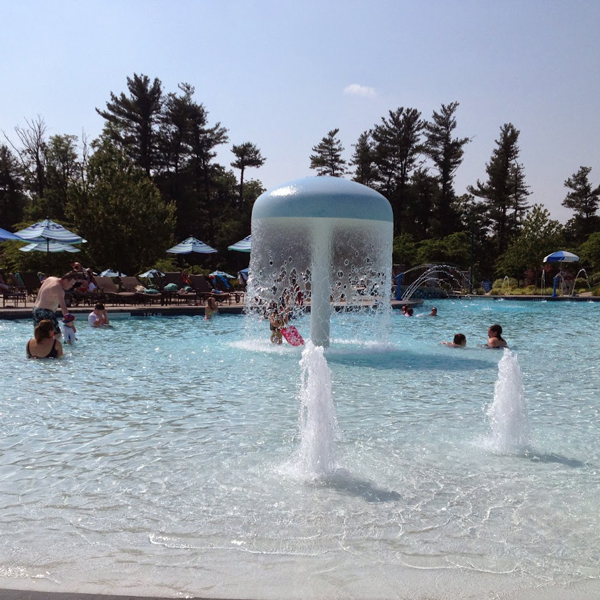 Outdoor water play park water spray park water playground Chile Featured Image