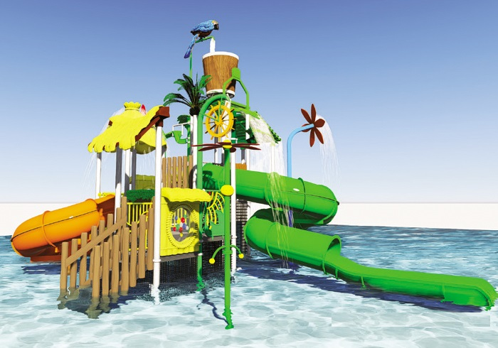 Hot Amusement Park Slide Spiral adult water slide,used fiberglass water slide for sale Featured Image