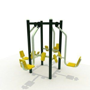 Public Exercise Equipment Outdoor Fitness Equipment for Adults