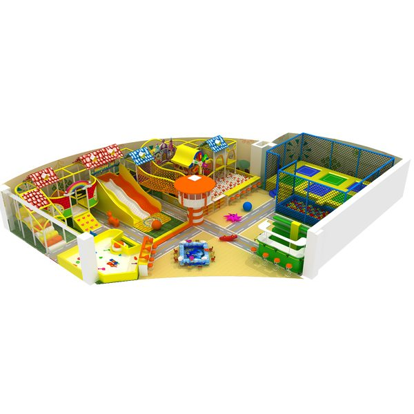 Commercial Used Children Indoor Playground Equipment Soft Play Featured Image