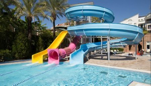 Aqua Park Pool Slide Used Fiberglass Water Slides for Sale