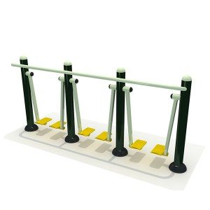 Public Place Steel Gym Fitness Equipment Air Walker