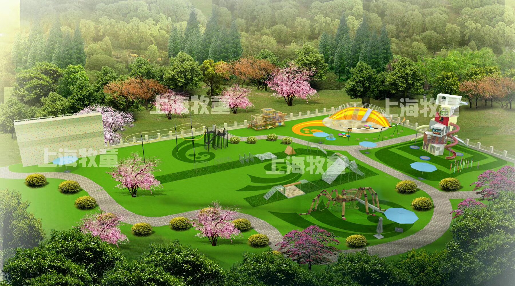 Outdoor amusement park customized design with low price Featured Image