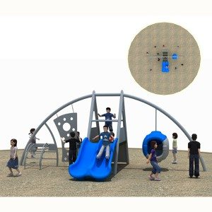 Outdoor Climbing Structure for Kids Playground Park