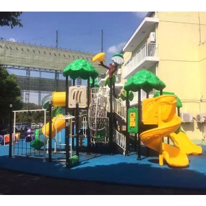 China Manufacturer for Outdoor Playground Equipment With Rabbit Roof House Children Slide Toys For Kids
