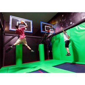 Indoor Jumping Trampoline for Adults & Children Amusement Trampoline Park