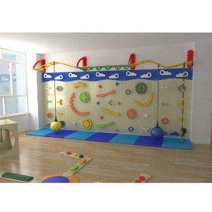 Indoor Playground Climbing Wall Structure for Kids