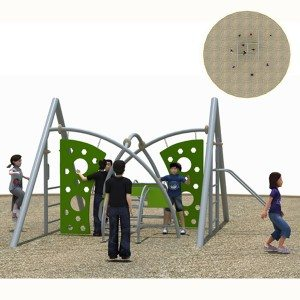 Children Outdoor Climbing Structure for Outdoor Playground