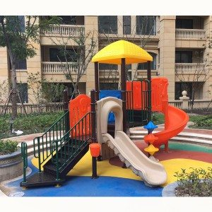 Play Lane Equipment Outdoor Playground Plastic Slide