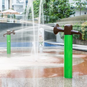 Aqua Park Water Play Feature Tipping Buckets for Splash Pads