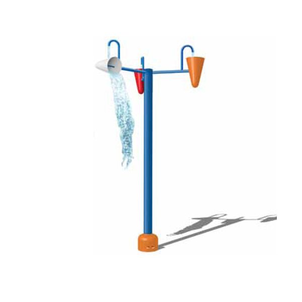 Water Park Equipment Interactive Triple Dumping Buckets Featured Image