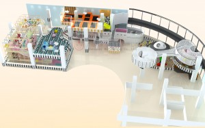 Hottest Indoor Playground, Children Happy Castle Play Party Center Equipment Play Zone,kids indoor exercise playground