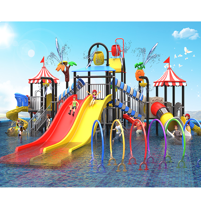 Waterpark equipment mutong Style Water House Featured Image