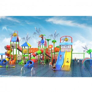 Aqua Park Playground House Water Park Slides Equipment