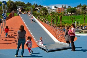 New children outdoor playground stainless steel slide,children slide