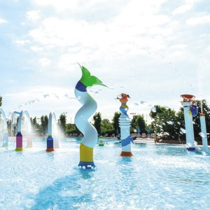 Aquatic Fiberglass Splash Pad-MT-102602