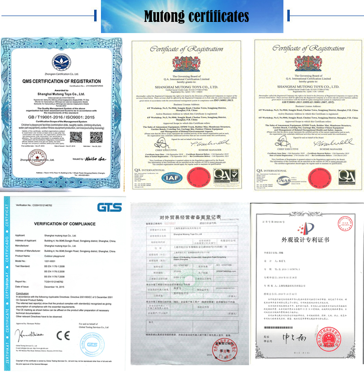 mutong certificates