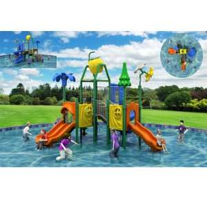Top quality promotion kids small water slide plastic play house buy professional water slide