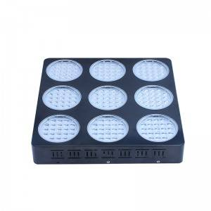 X-Grow 189PCS / 3W LED Grow Sgòthan